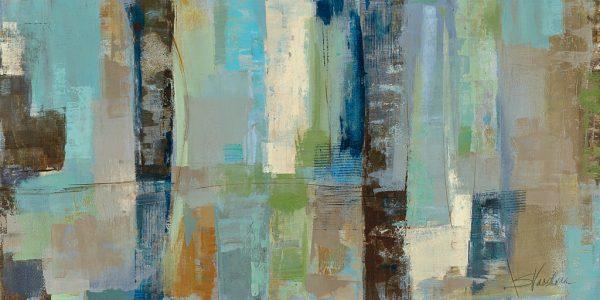 Skylights Silvia Vassileva Abstract Art Print