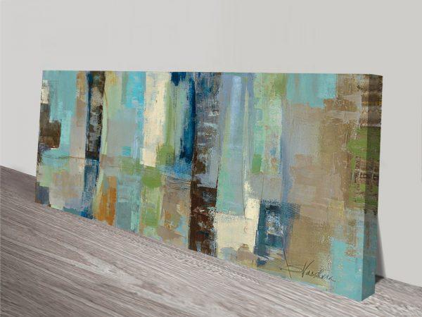 Skylights Silvia Vassileva Abstract Canvas Art Print