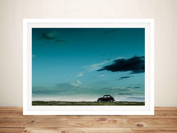 VW Beatle Framed Wall Art