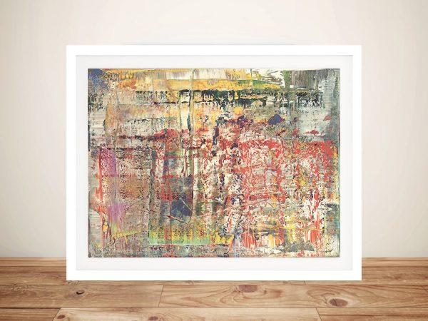 Gerhard Richter Abstract Framed Wall Art