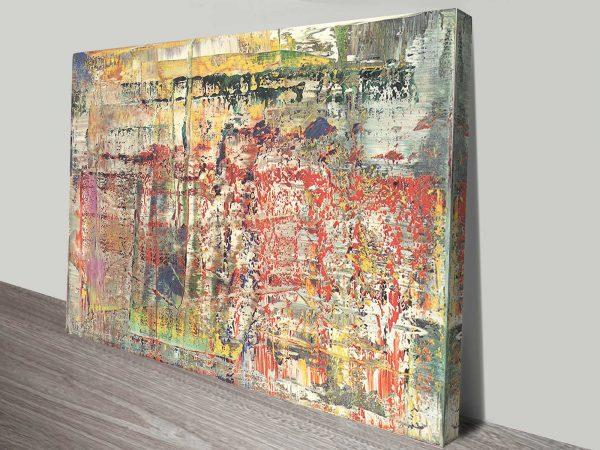 Gerhard Richter Abstraktes Bild Picture Print