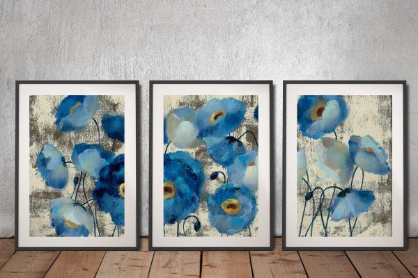 Buy Silvia Vassileva Triptych Wall Art Gift Ideas AU