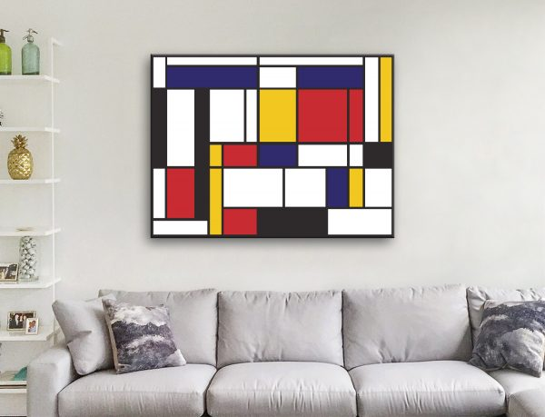 Buy Mondrian Wall Art Get the Perfect Gift Online
