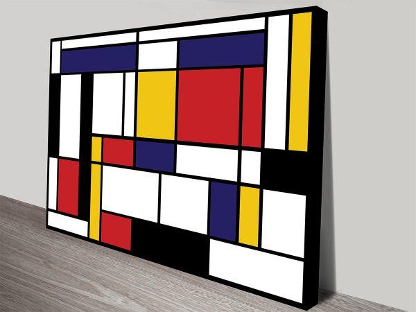 Piet Mondrian Tableau Canvas Print Online