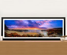 Sunset Bay Noel Buttler Panoramic Wall Art Print