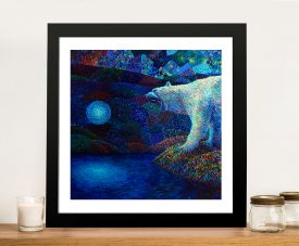 Polar Bear by Iris Scott Framed Wall Art Picture