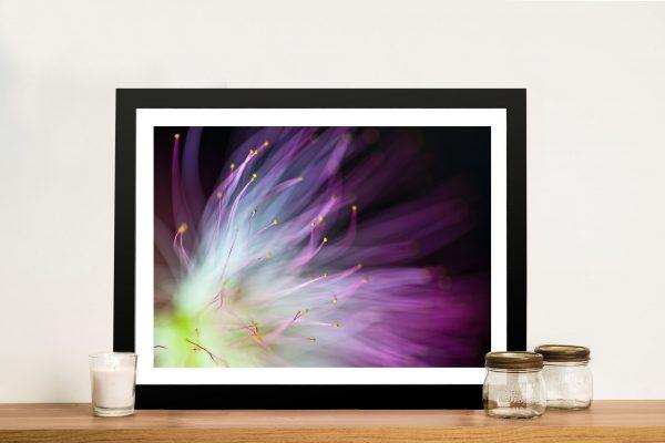 Will-o-the-Wisp Flower Canvas Art Print