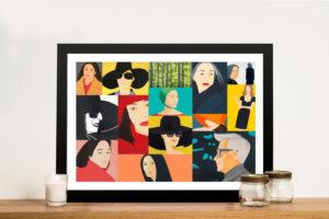 Alex Katz Collage Framed Wall Art Print