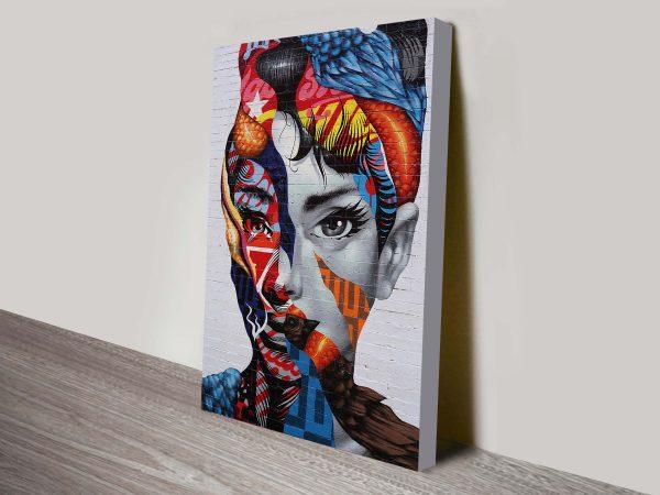 Audrey Hepburn Street Art Prints