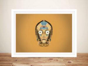 C-3PO Geometric Wall Art Picture
