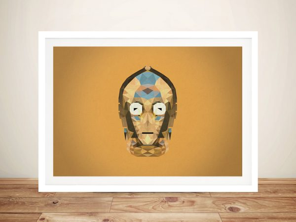 C-3PO Geometric Wall Art Picture