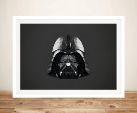 Darth Vader Head Art Framed Wall Art Prints