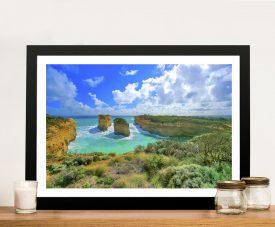 Great Ocean Road Australia Landscape Framed Wall Art