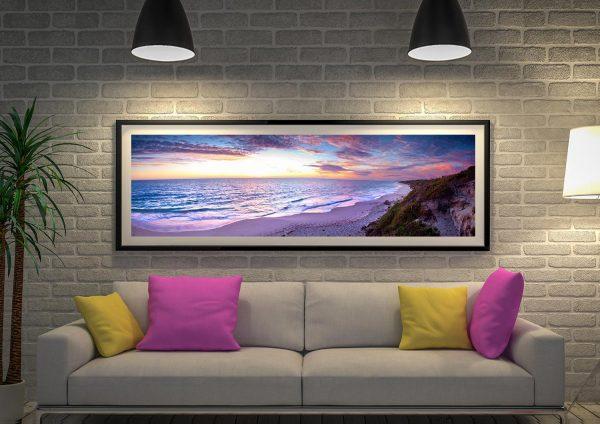 Buy a Jindalee Sunset Panoramic Canvas Print