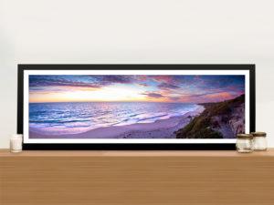 Jindalee Sunset Panorama Framed Wall Art