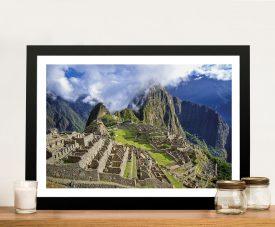 Machu Picchu Framed Wall Art Prints