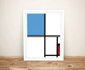 Mondrian Framed Wall Art Melbourne
