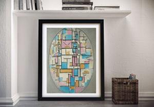 Buy Piet Mondrian Wall Art Prints Australia