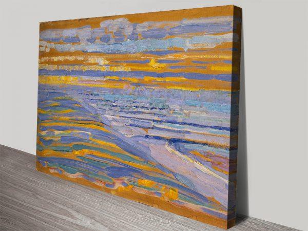 Piet Mondrian Canvas Art Picture Print