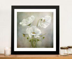 Rainy Day, Bright Flower Modern Natural Landscape Art Canvas Prints