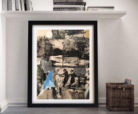 Robert Rauschenberg Modern Wall Art Print