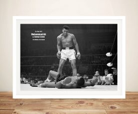 Muhammad-Ali-Framed Wall Art Decor Australia