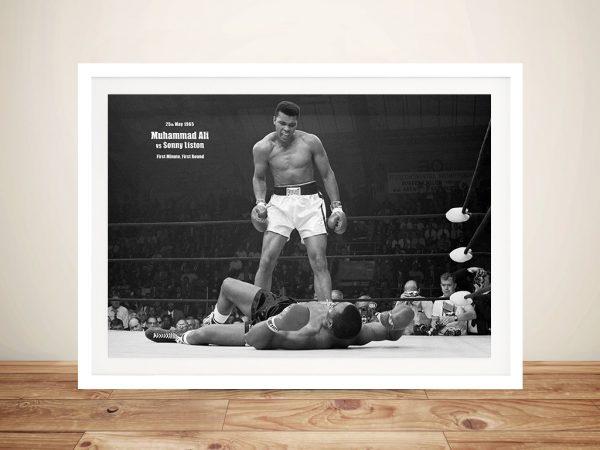 Muhammad-Ali-Framed Wall Art Decor Australia