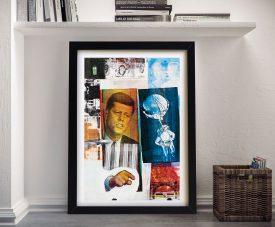 Retroactive ii Robert Rauschenberg Fine Art Print Decor Australia