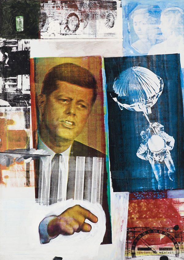 Retroactive ii Robert Rauschenberg Wall Picture Artwork