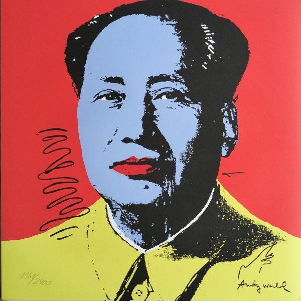 Warhol mao wall art posters Australia