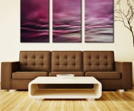 Water Colours Triptych Three panel Canvas Art Prints