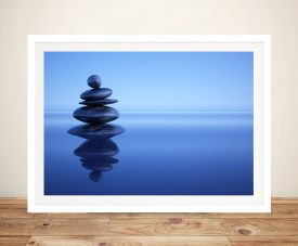 Blue Stones Canvas Photo Printing