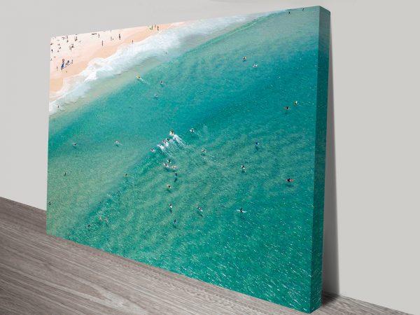 Bondi Beach Aerial Photo Wall Art
