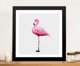 Vibrant Flamingo I Cheap Canvas Prints