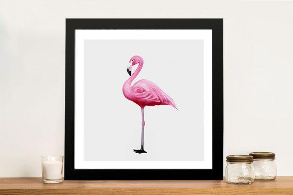 Vibrant Flamingo I Cheap Canvas Prints