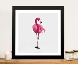Vibrant Flamingo II Canvas Art