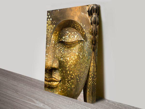 Buddha Face Close Up