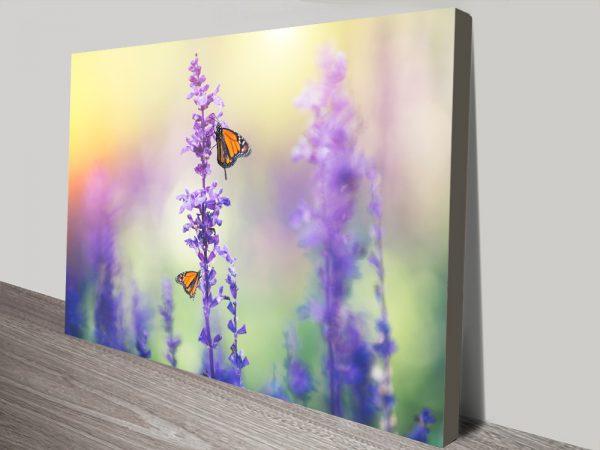 Monarchs On Lavender