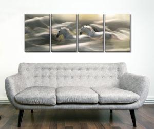 Morning Dream Five Panel Canvas Wall Art