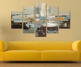 Morning Haze Five Piece Artwork Best Canvas Prints