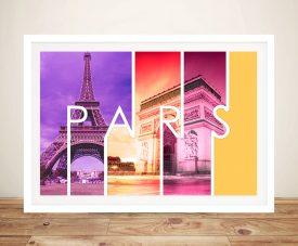 Paris Photo Canvas Printing
