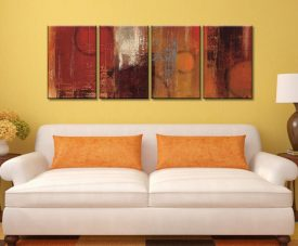 Sea Foam Four Panel Canvas Photo Prints