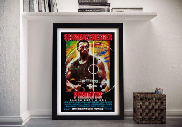 Vintage Predator Movie Poster