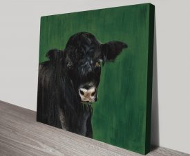 Farm Team Cow I by Patsy Ducklow Paint To Print