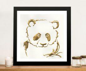 Gilded Panda By Chris Paschke | Canvas Printers Online