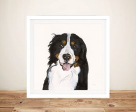 Barrett The Bernese Mountain Dog By Patsy Ducklow Unique Gifts