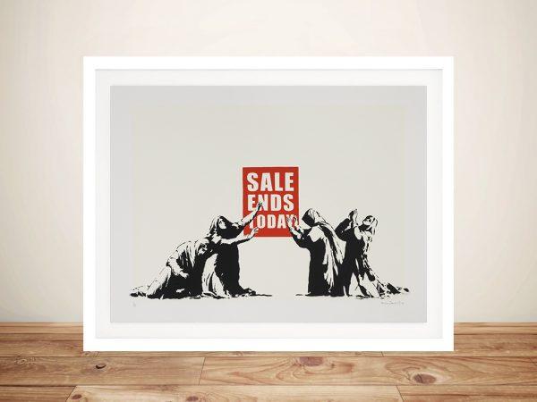 Banksy Sale Ends Banksy Art Prints Online