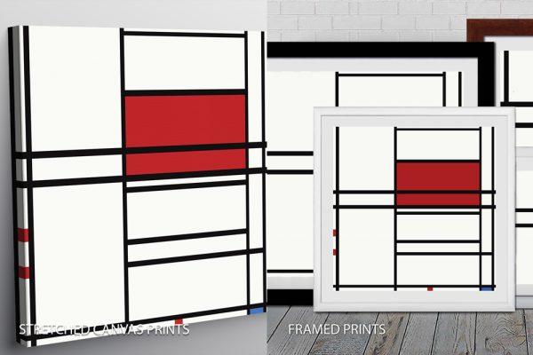 Piet Mondrian Quality Art Print