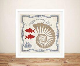 Pacific - Nautilus Canvas Prints