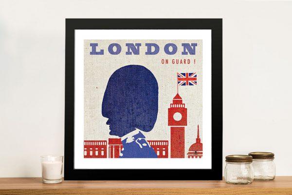 London - Studio Mousseau Canvas Wall Art